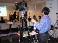 ビデオカメラでUstream中継